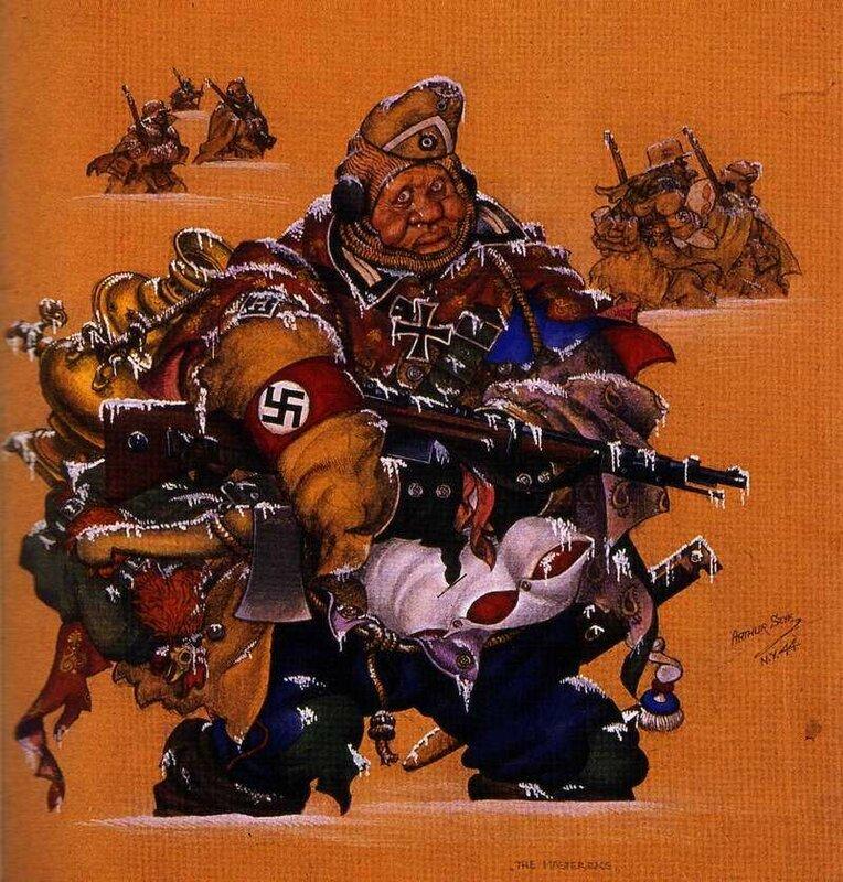 как немцы мерзли от морозов, русская зима, как русские немцев били, потери немцев на Восточном фронте, мародерство в немецкой армии