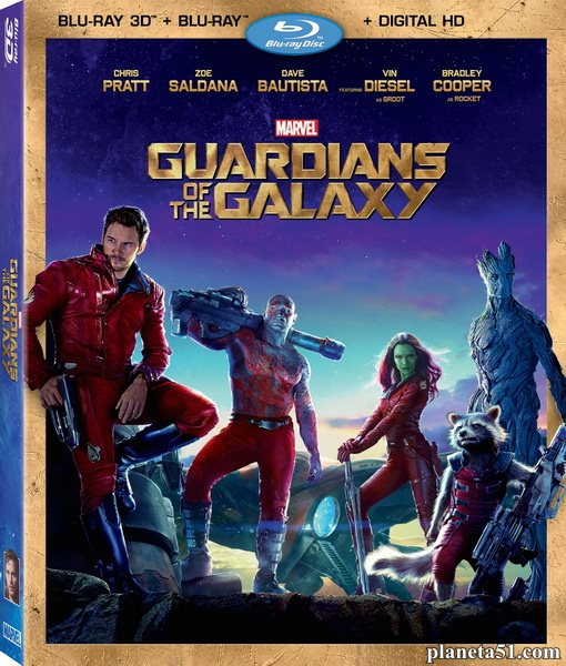 Стражи Галактики / Guardians of the Galaxy (2014/BD-Remux/BDRip/HDRip/3D) [IMAX Edition]