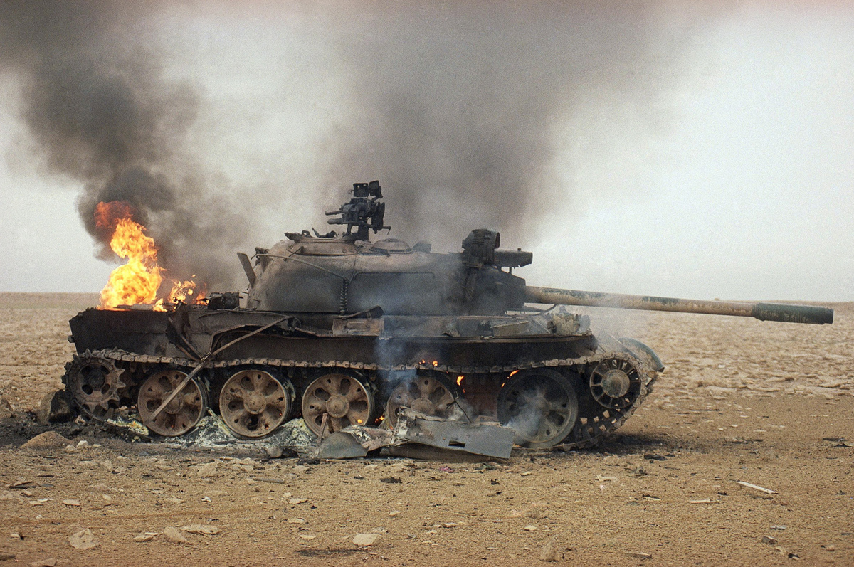 Gulf  War 1991  Iraq  Equipment    Captured   Destroyed
