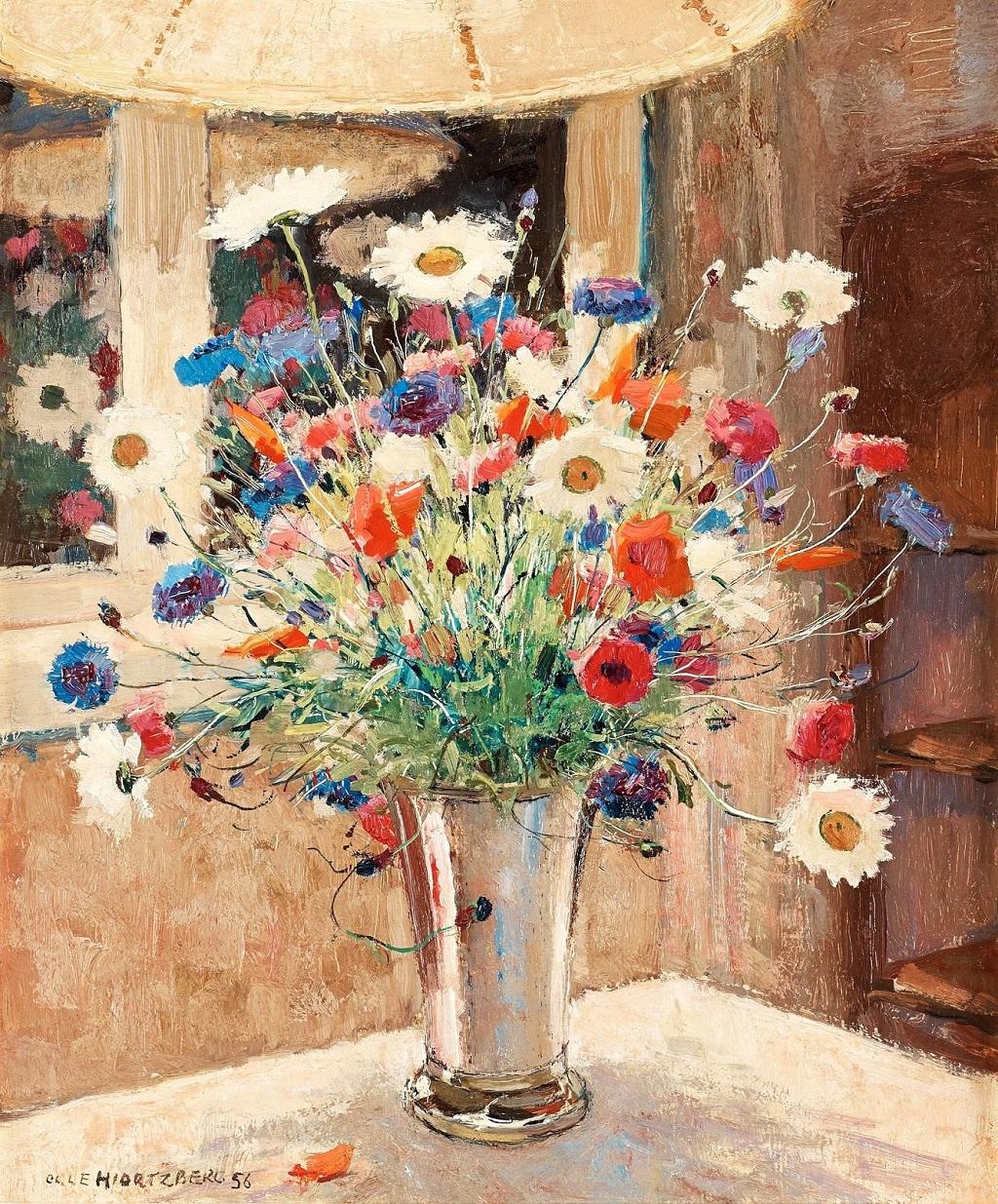 12-1956_Натюрморт с полевыми цветами в серебряной вазе_55 x 46_д.,м._Частное собрание.jpg