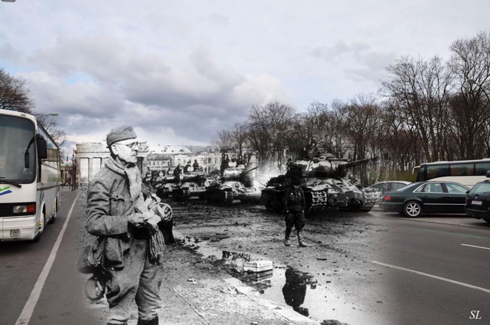 11 Берлин 1945-2010. Танки на ул 17 июня..jpg