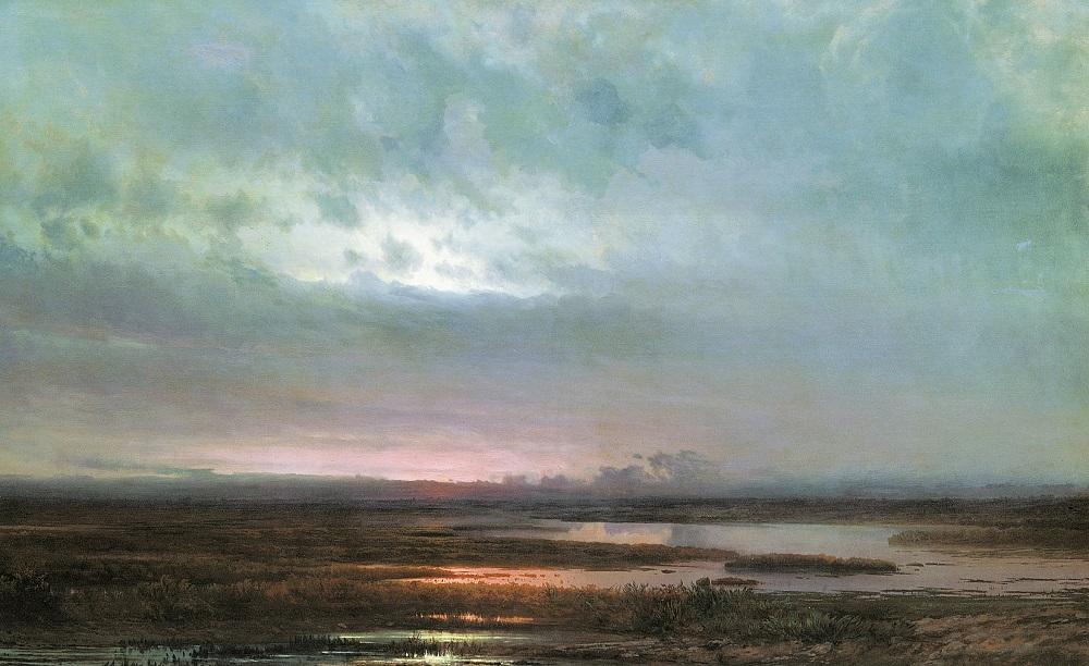 Закат над болотом 1871 холст масло 88 х 139.5 см ГРМ.jpg