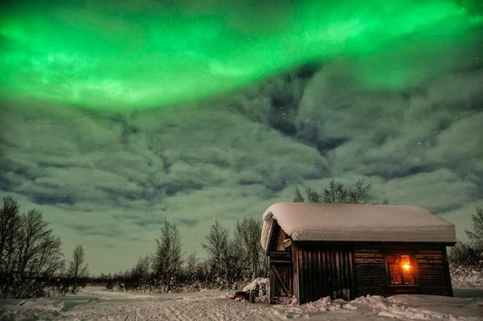Красивые фотографии полярного сияния 0 10d626 eb662e0c orig
