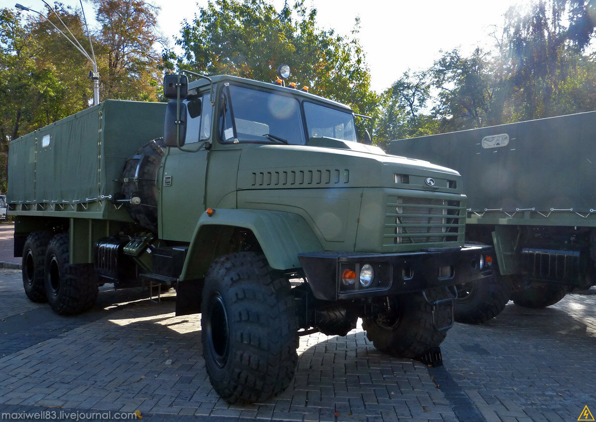 КрАЗ-6322 (6х6)