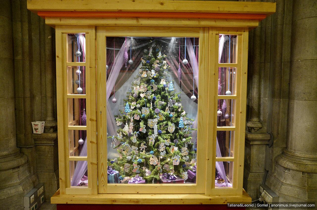 Рождественские витрины Вены