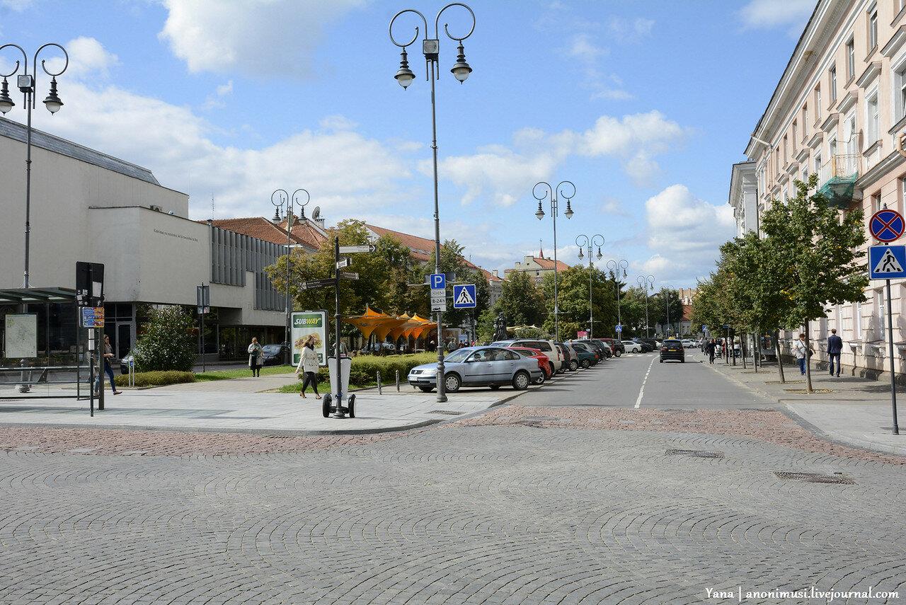 Вильнюс. Прогулка по городу.