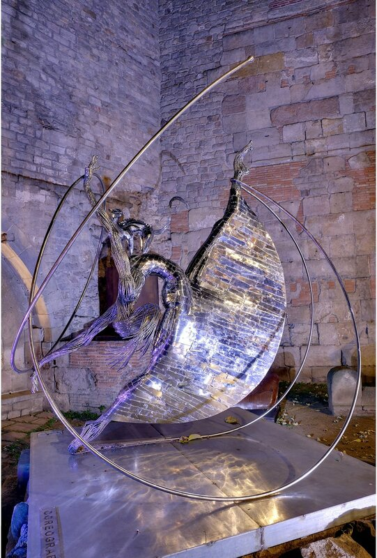 Барселона. Скульптура