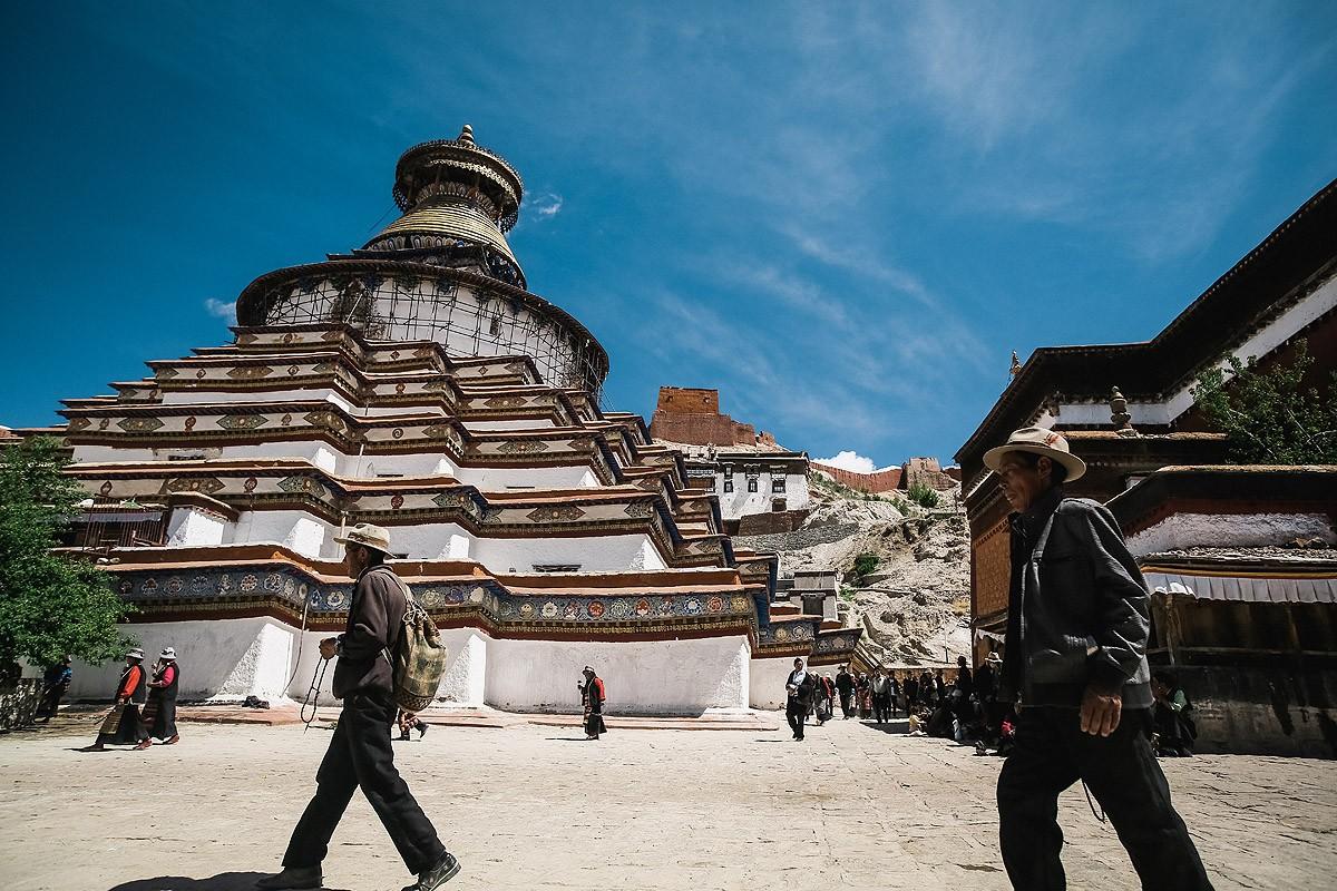 21. Настоящей жемчужиной Гьянцзе и монастыря Пелкор Чодэ является ступа Кумбум, или Ступа ста тысяч