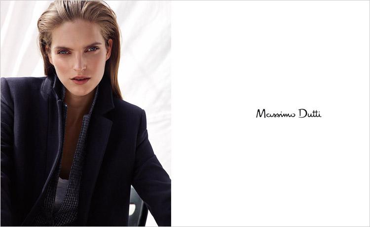 Мирте Маас (Mirte Maas) в рекламной фотосессии для Massimo Dutti