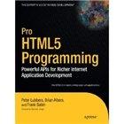 Книга Pro HTML5 Programming: Powerful APIs for Richer Internet Application Development