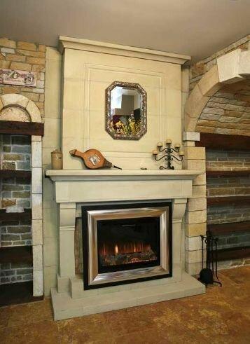 Мебель и камин – уют домашнего очага