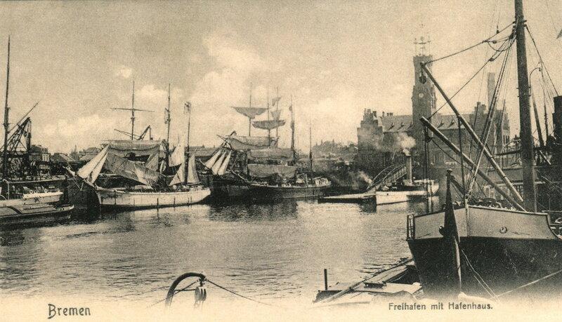 Freihafen mit Hafenhaus