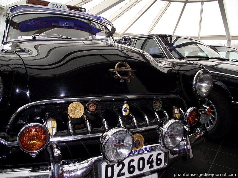 Opel Kapitan, 1954