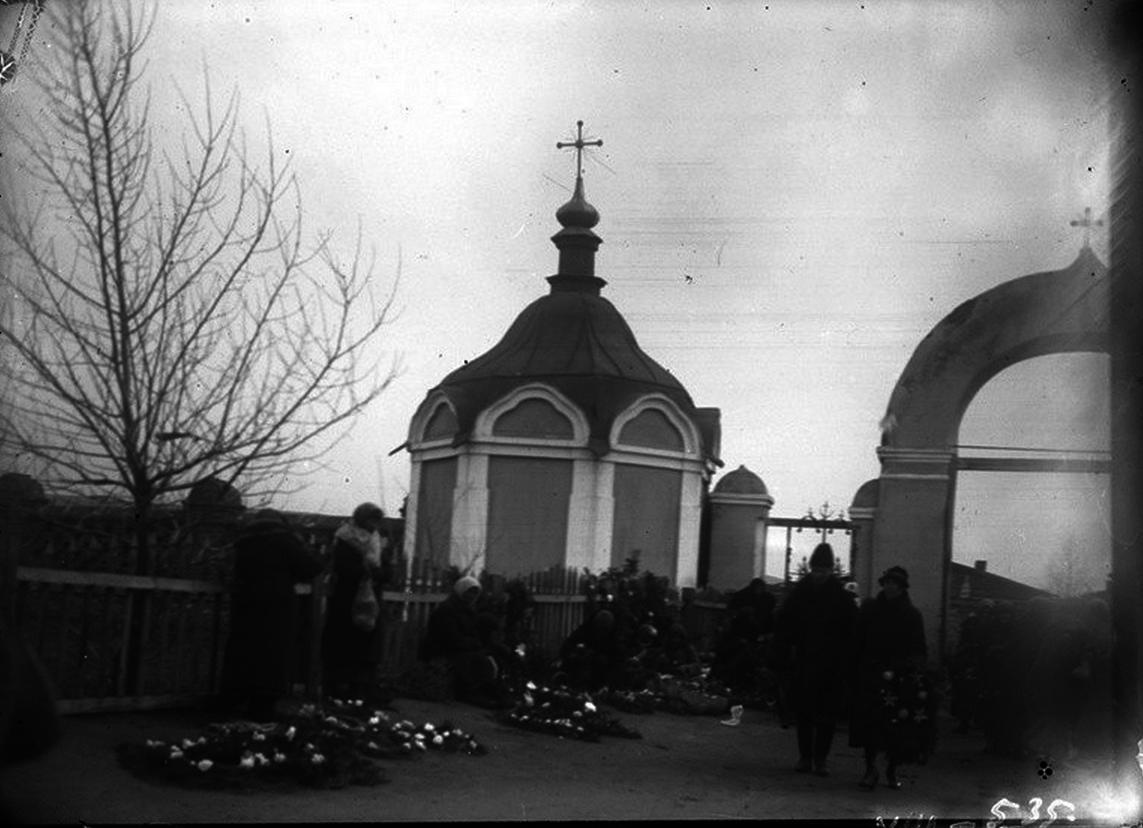 Воскресенская часовня на Троицком кладбище