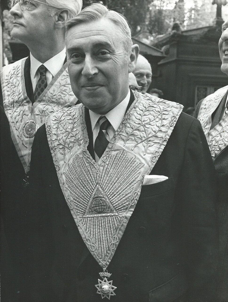 Жак Миттеран, Великий Мастер ложи Великого Востока Франции. 1969—1971
