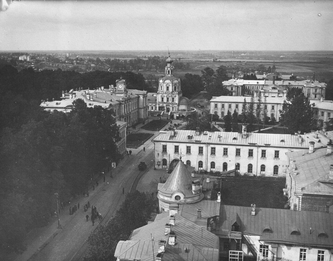 51. Панорама с Водонапорной башни на ТСХА, 1930