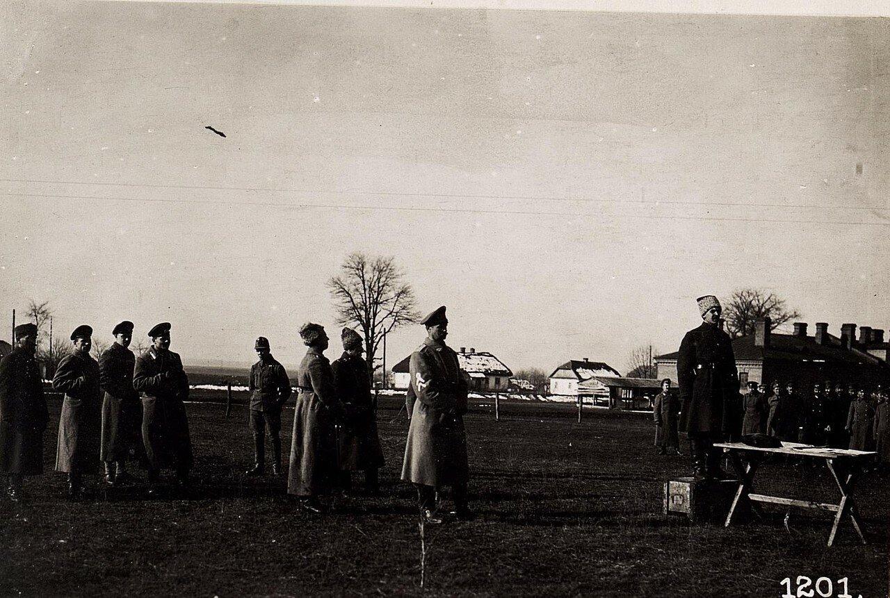 Украинские делегаты во Владимир-Волынском. (16.II.1918.)