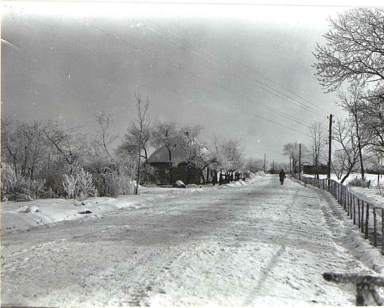 Павловичи. Улица в селе