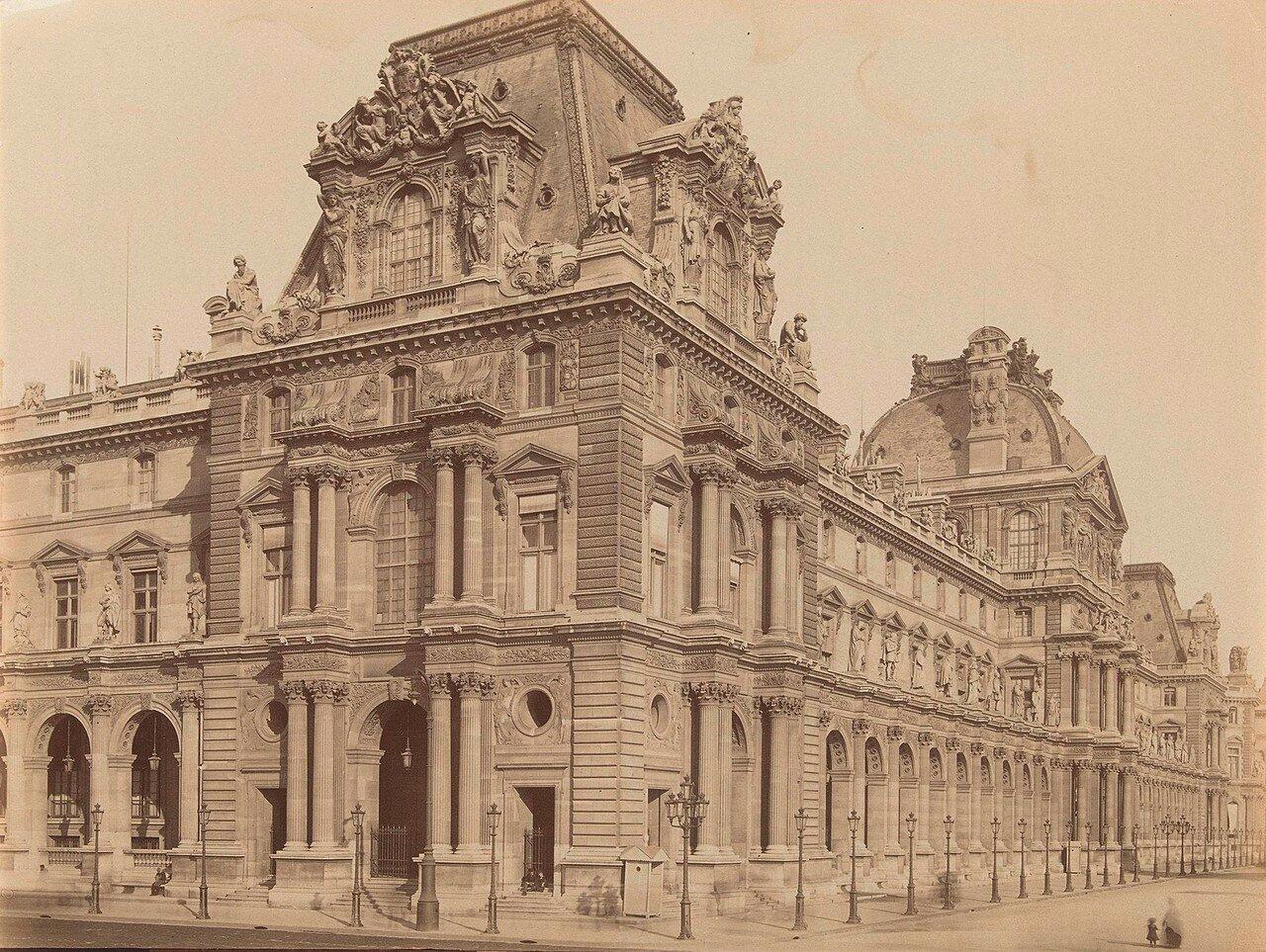 1860-е. Лувр. Павильон Тюрго