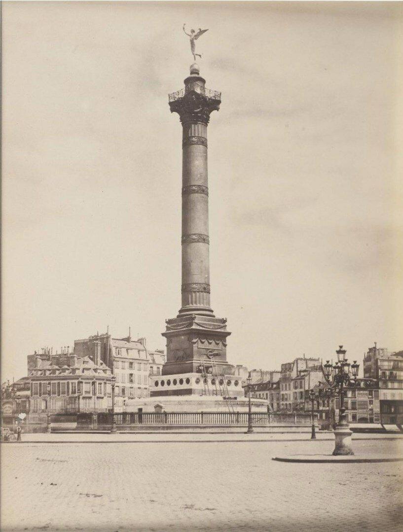 1875. Площадь Бастилии