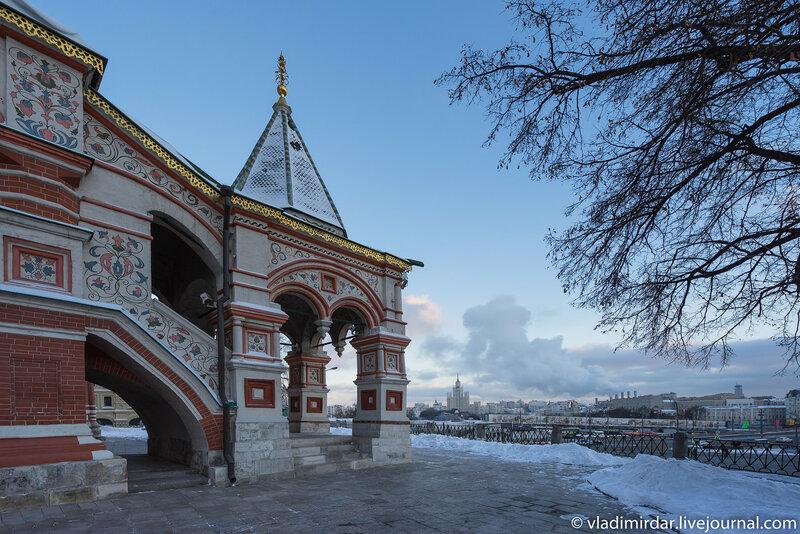 Предновогодняя Москва 2015. Красная площадь