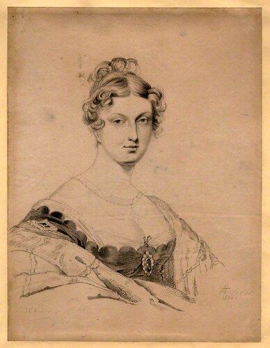 NPG D8119; Princess Charlotte Augusta of Wales