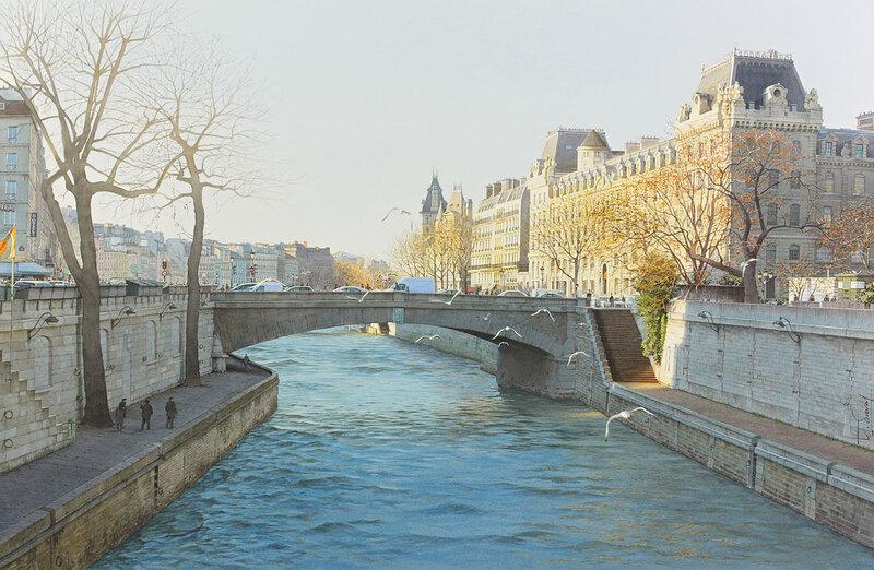 Le petit Pont du grand Paris