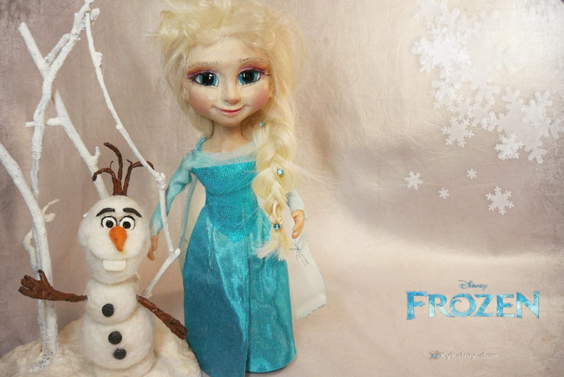 «Холодное сердце» Frozen куклы персонажи мультфильма Elsa и Olaf