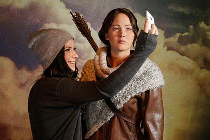 Музей мадам Тюссо пополнился восковой героиней «Голодных игр»