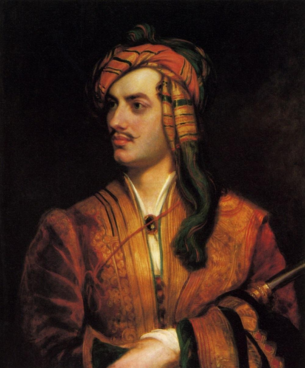 00 George Gordon Byron (1788-1824), 6th Baron Byron, Poet By Thomas Phillips.jpg