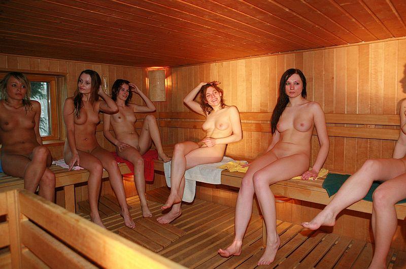 в бане моются голые фото