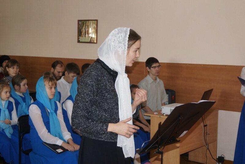 30 ноября в Барнаульской духовной семинарии состоялся концерт Воскресной школы ПКС, посвященный Дню матери