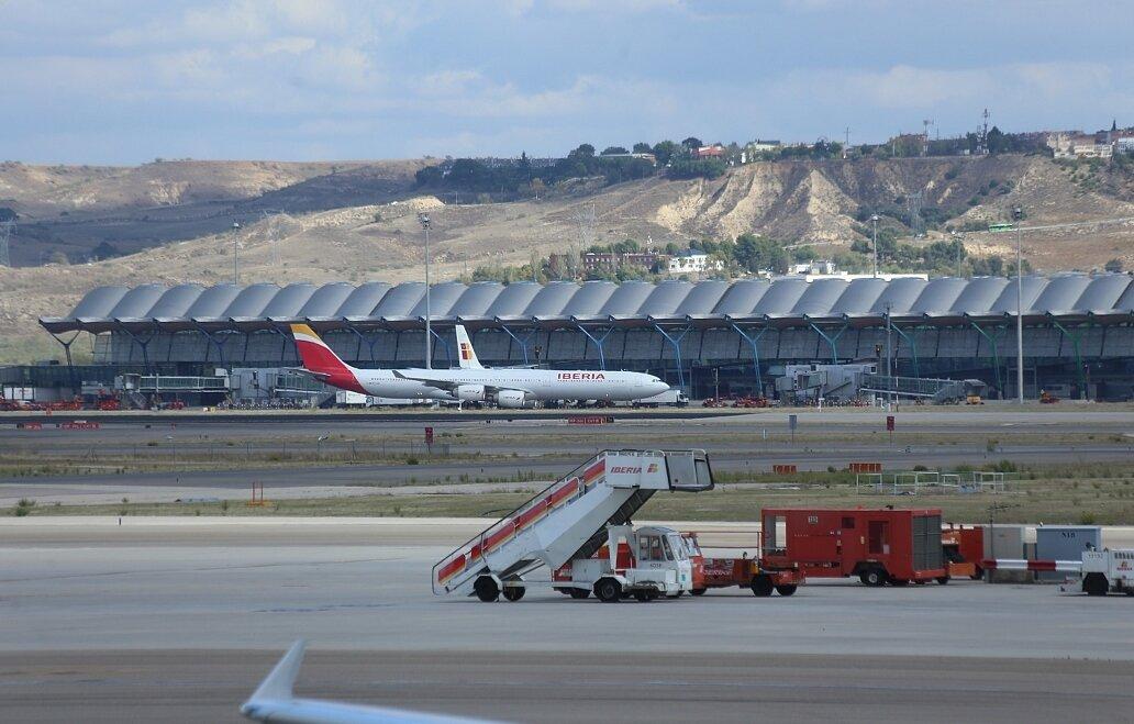 Мадрид. Аэропорт Барахас (Aeropuerto de Madrid-Barajas)