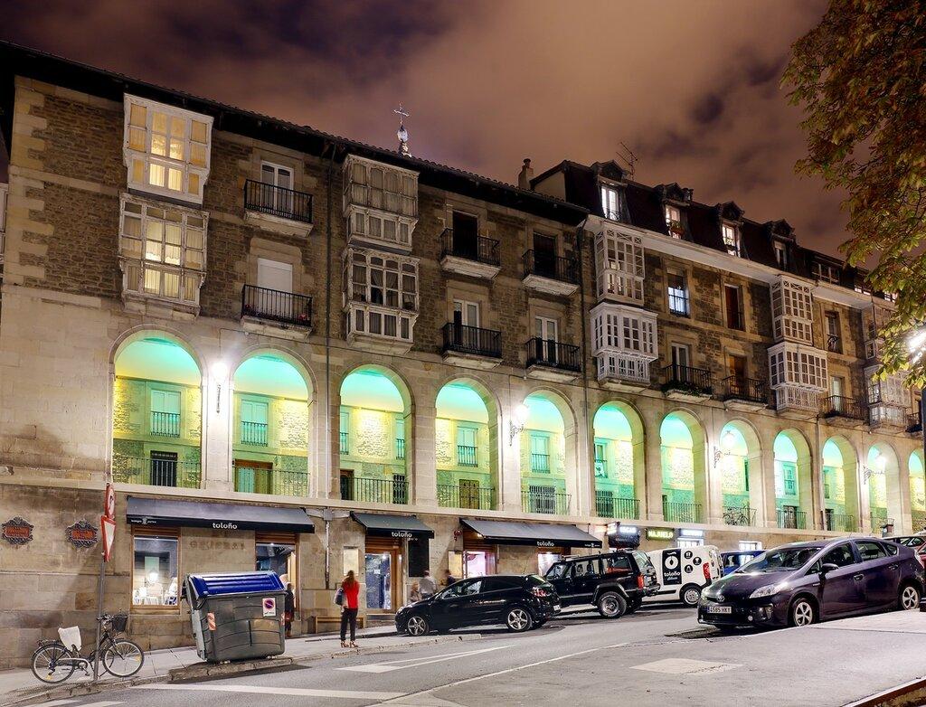 Vitoria-Gasteiz. Arcade Arguiles (Los Arquillos)