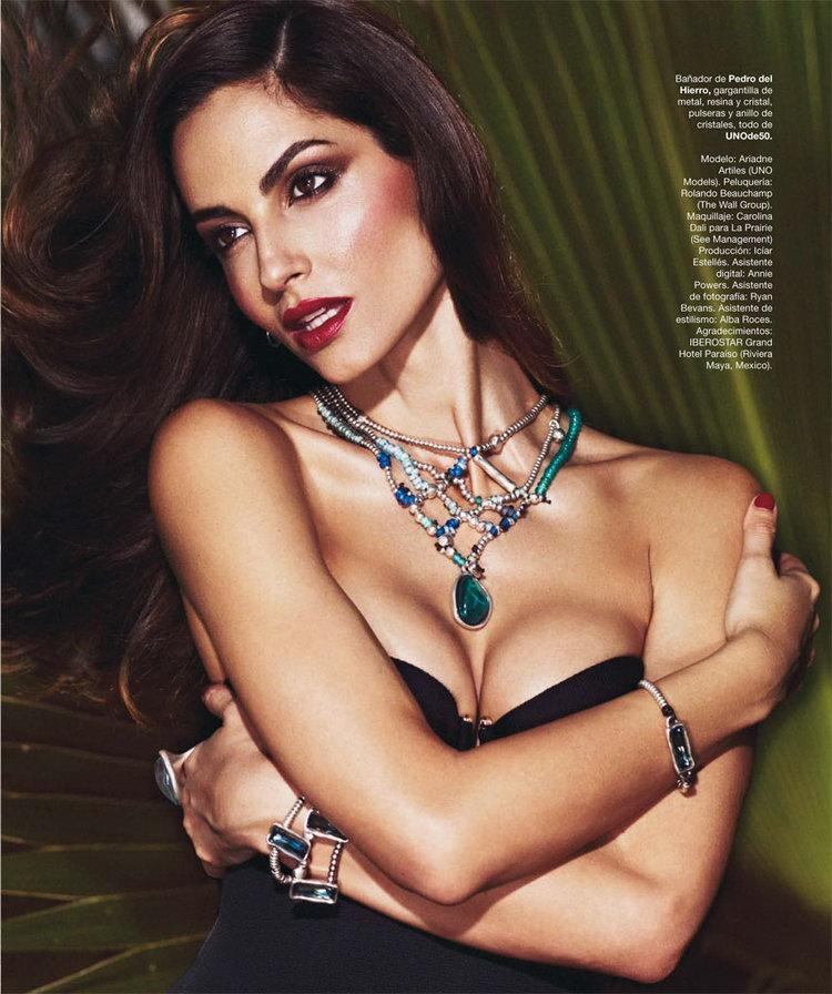 Ариадна Артилес в журнале Harper's Bazaar Spain