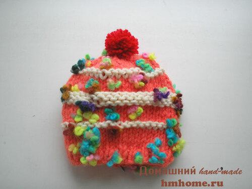 Детские шапочки из пряжи Alize Flower