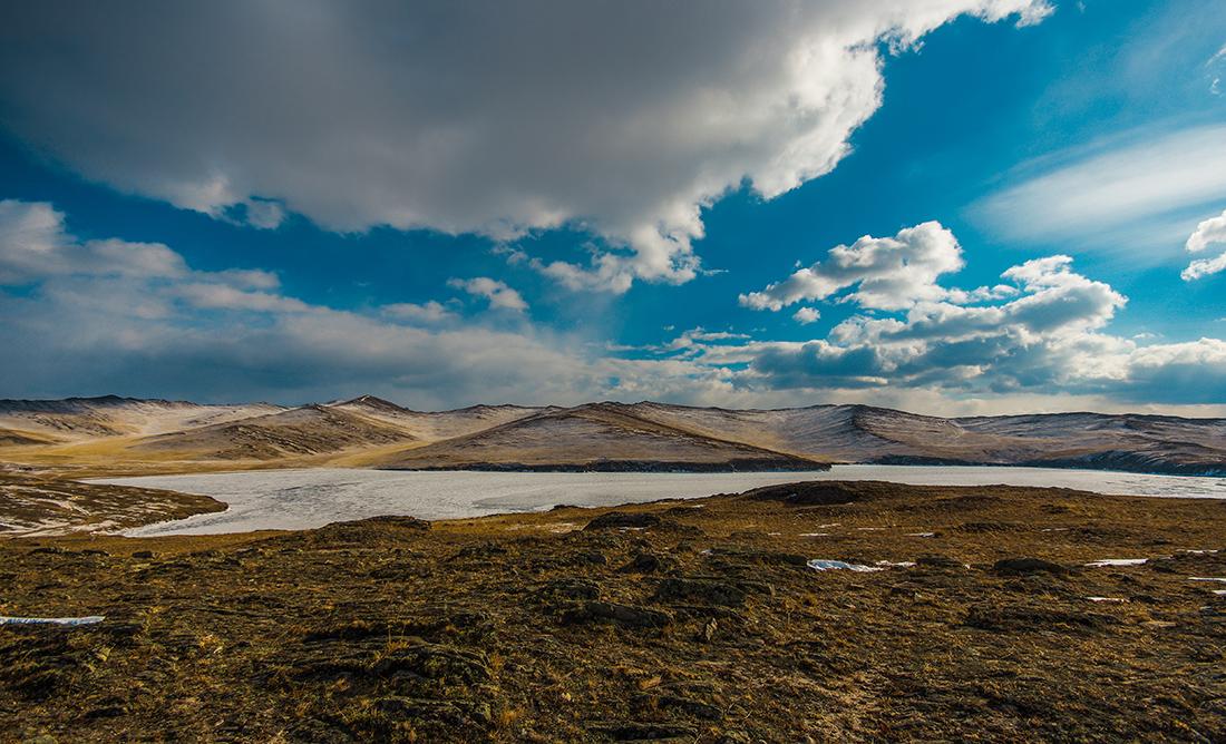 Вид с полуострова Харгой