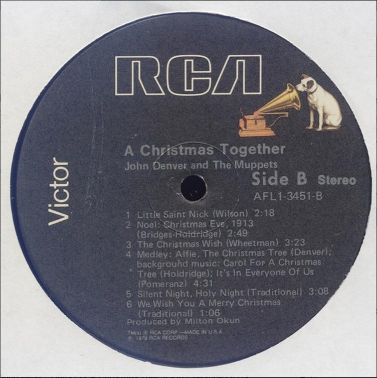 24/96] John Denver & The Muppets - A Christmas Together - 1979 ...