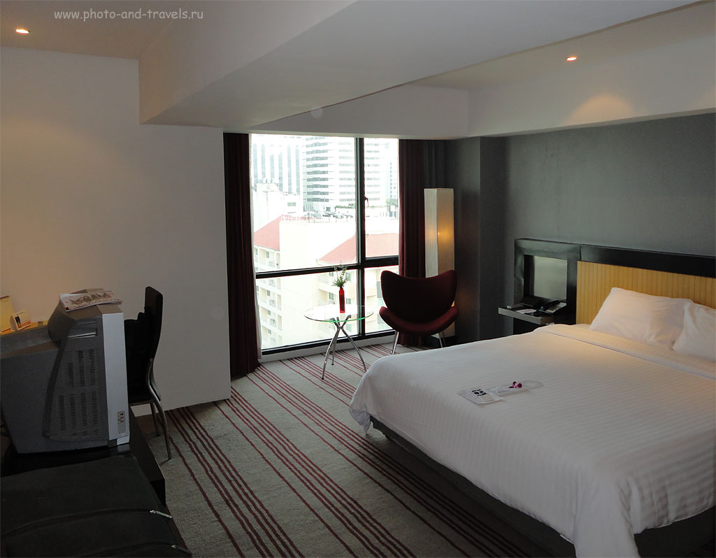 2. Отзыв по отелю BelAire Bangkok. Хорошее расположение, но дорого... Следующий раз буду на одну ночь в Бангкоке искать более дешевое жилье.