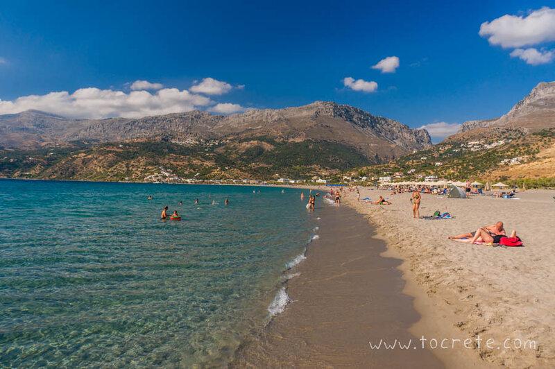 Пляж Плакьяс | Plakias beach