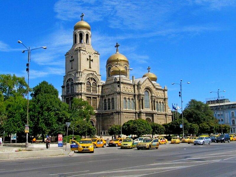 Кафедральный собор.Варна.Болгария.