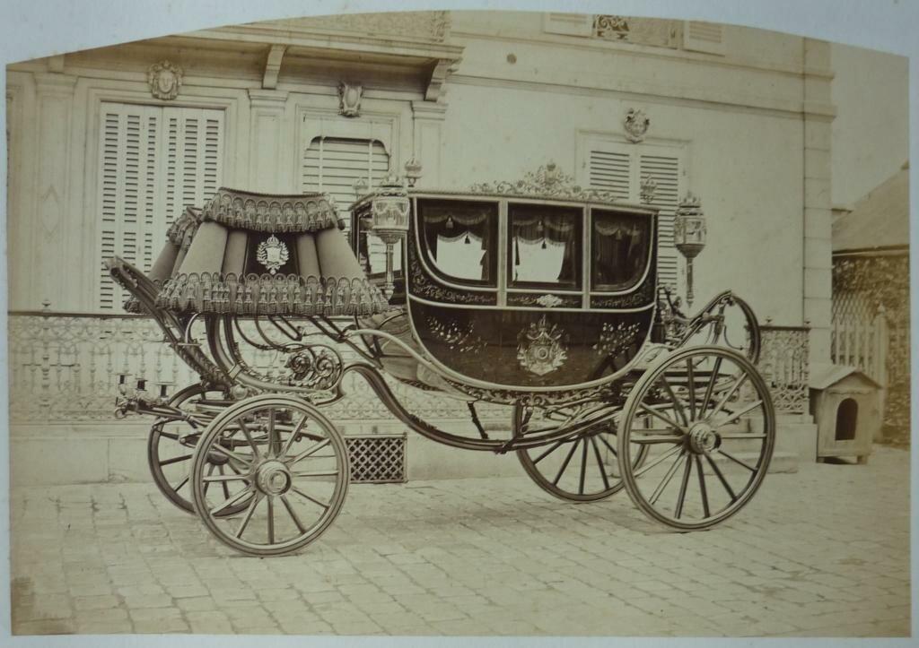 02. Карета императора Бразилии Педру II