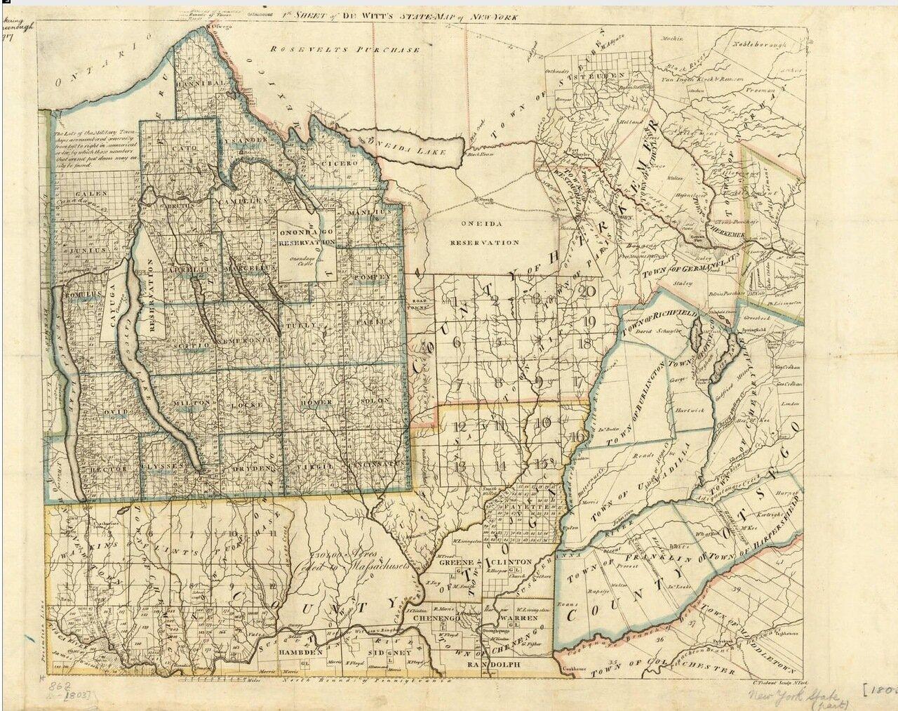 1793. Штат Нью Йорк