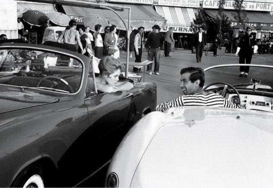 1956. Брижит Бардо и Роже Вадим в Сан-Тропе