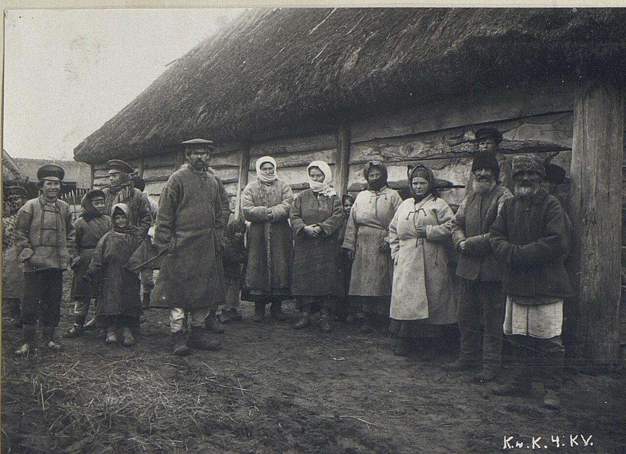 Крестьяне из Копыли (Минская губерния)