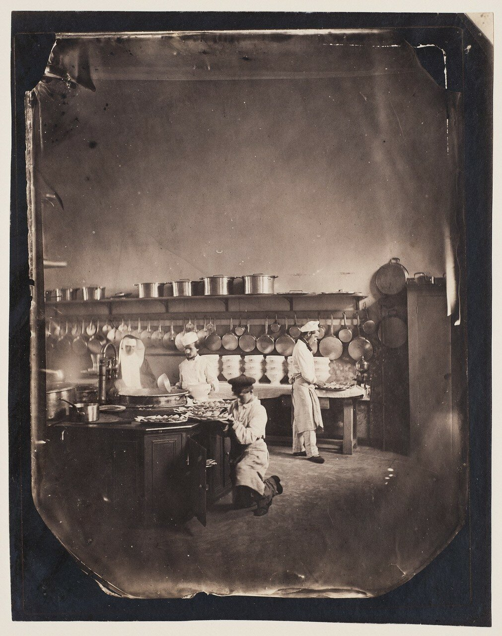 1859. Кухня императорской психиатрической клиники в Венсене