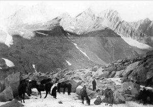Экспедиция в горном проходе