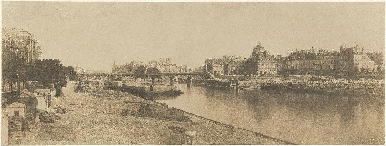 1853. Вид на мост Каррузель