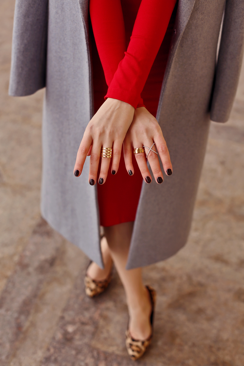 Красное платье и прогулка по городу #7.