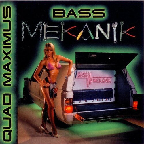 Bass Mekanik - Quad Maximus (1994) FLAC